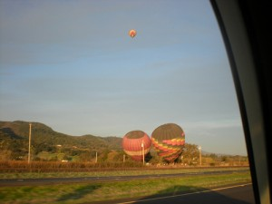 Hot Air Balloons in Yountville, CA