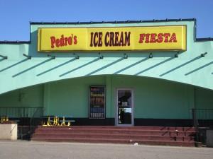 Pedros ice cream fiesta