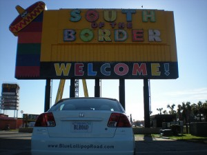 South of the Border with BLR-Mobile