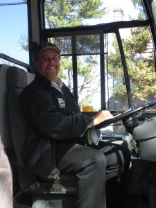 Ron, our Bus Driver in Philly