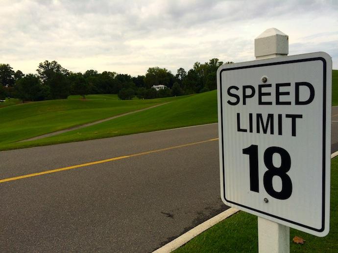 18 miles per hour