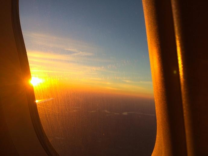 Airplane Morning