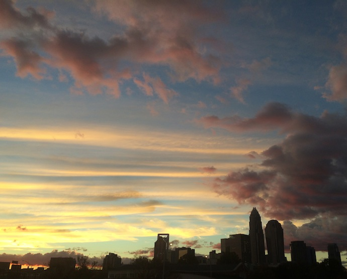 CLT Sunset