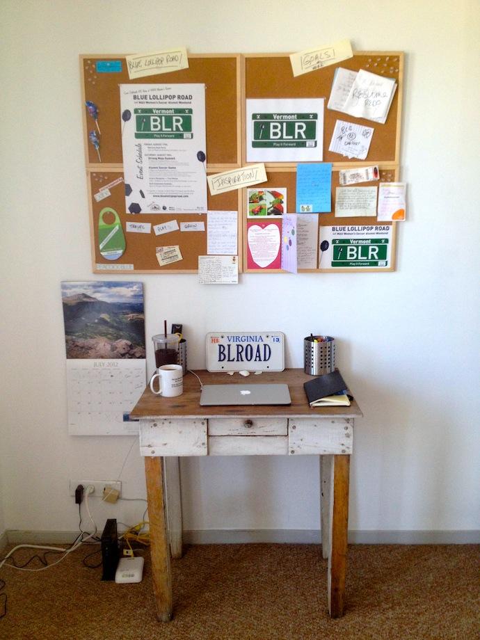 BLR work space