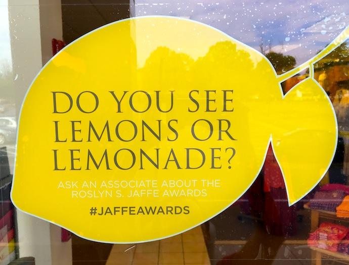 I see lemonade