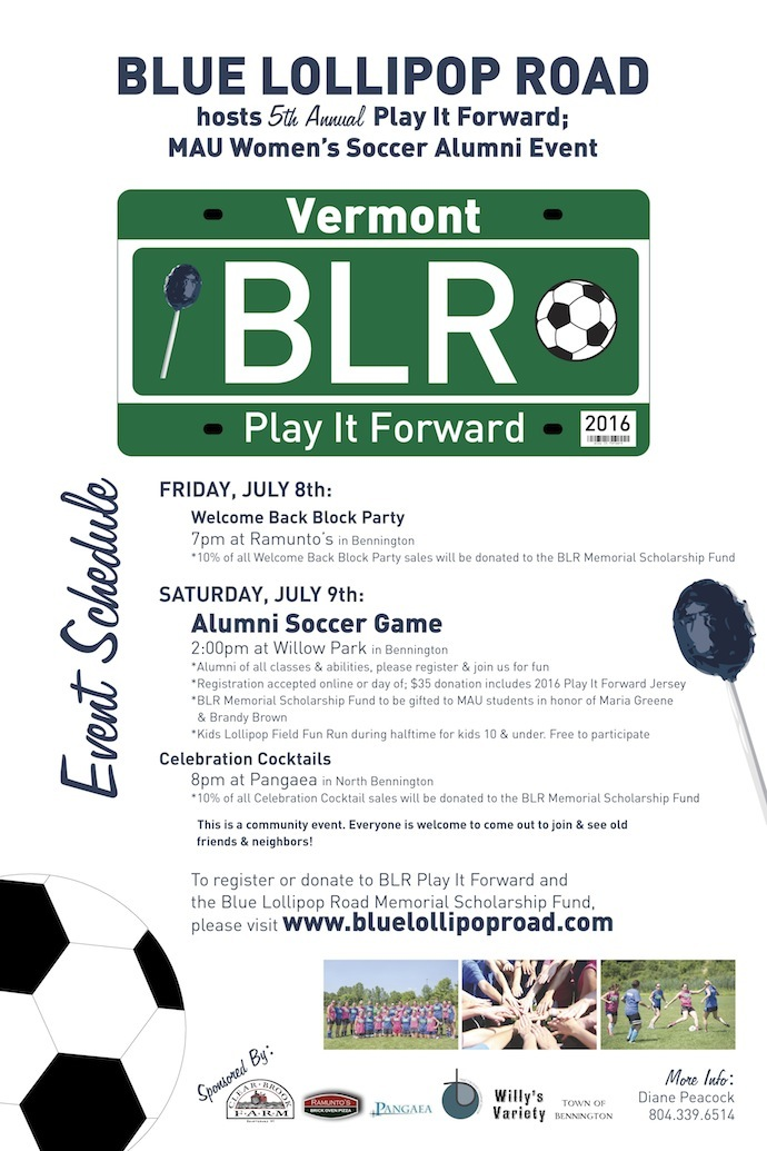 BLR Play It Forward 2016