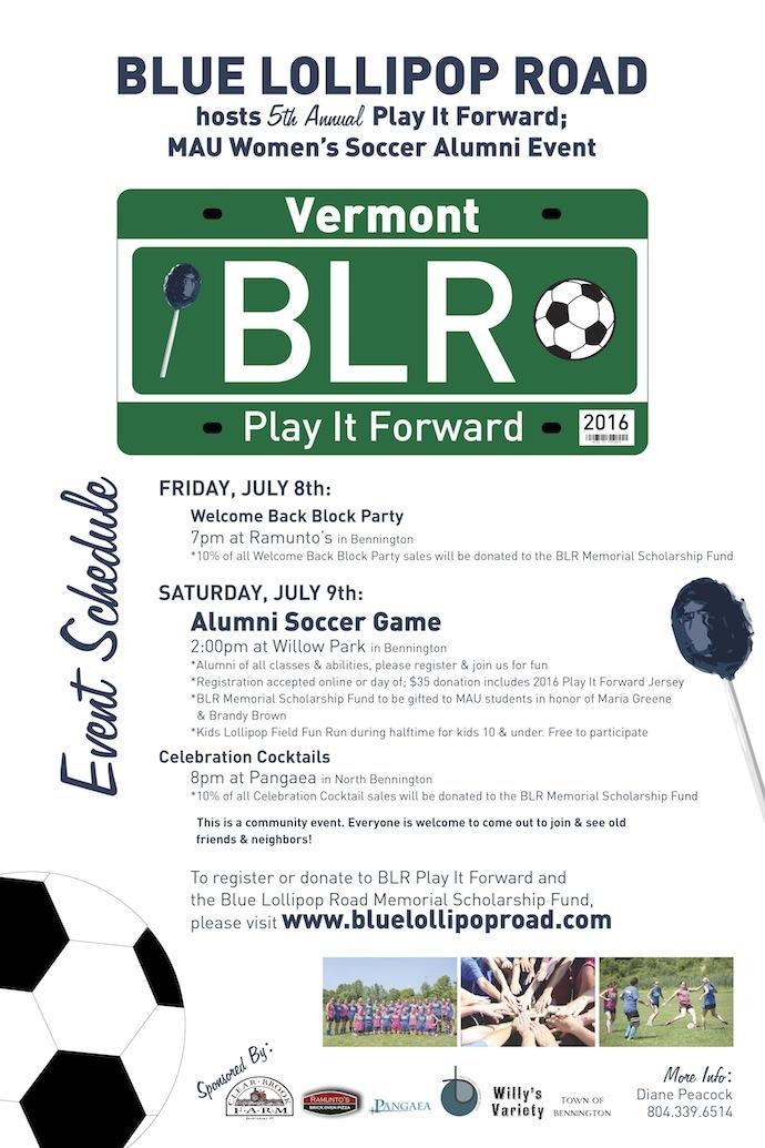 BLR Play It Forward 2016
