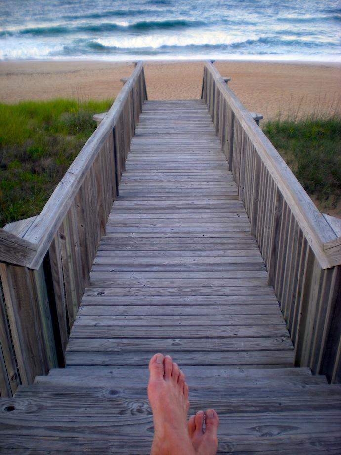Beach Feet 2009