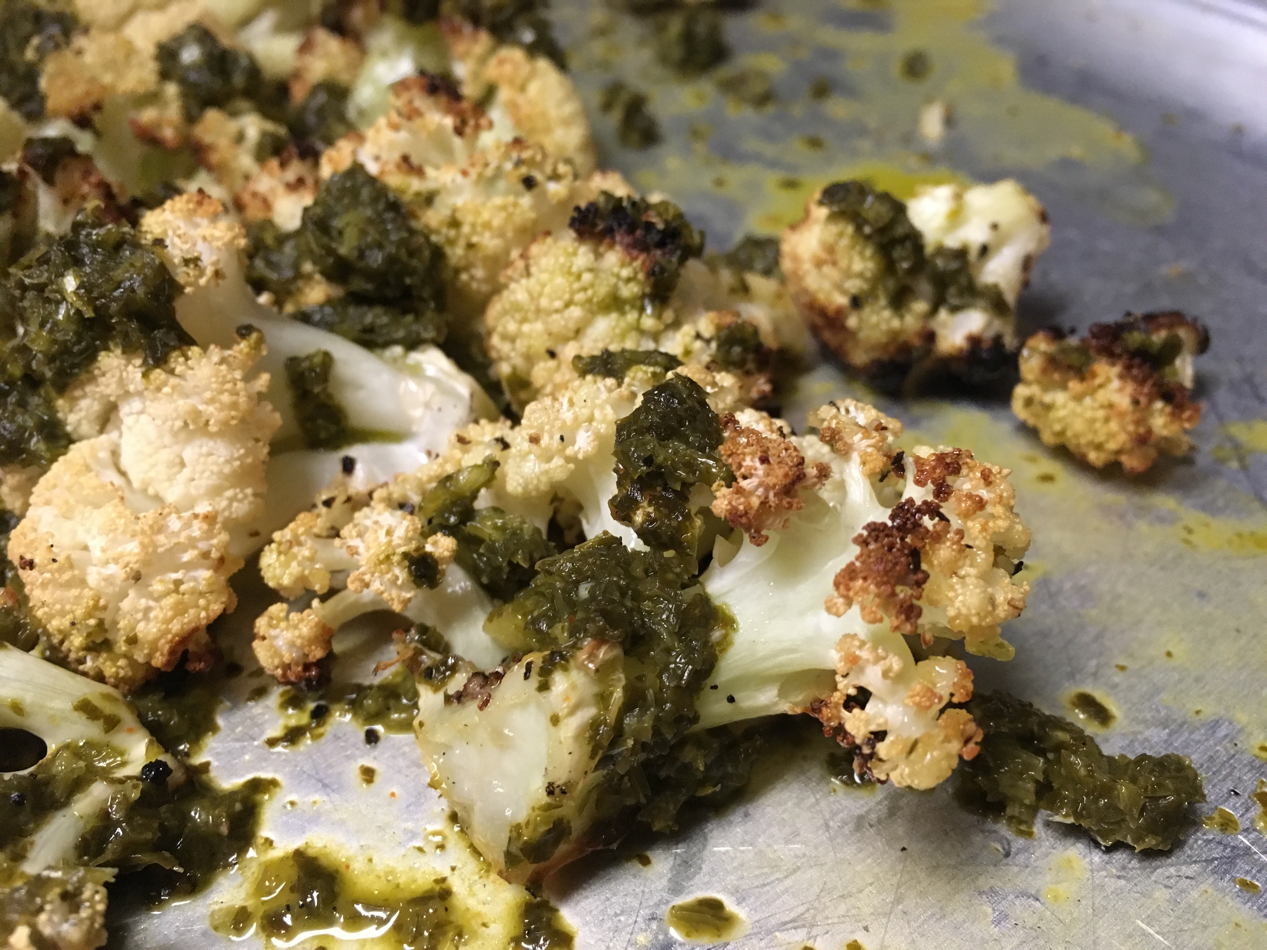 Chimichurri Cauliflower