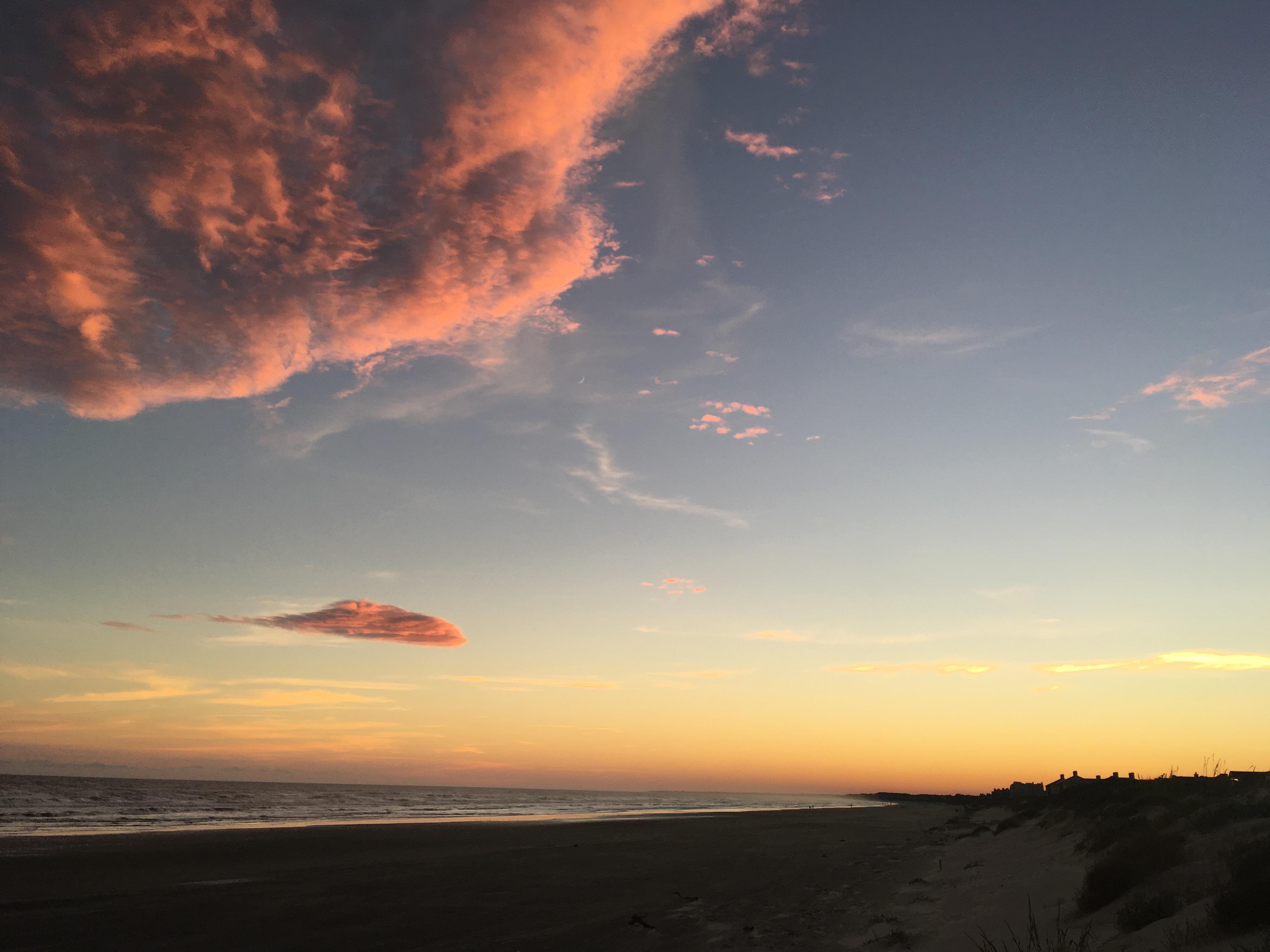Kiawah Island Sunset Beach Walk